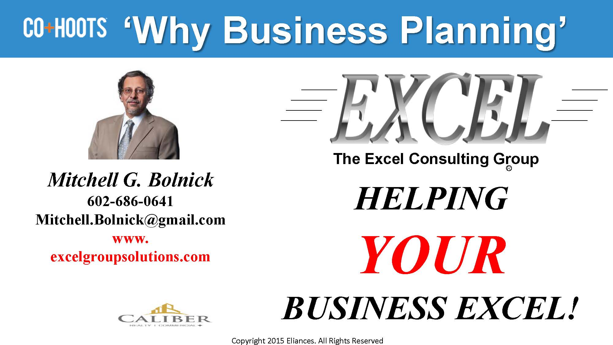 Why Business Planning